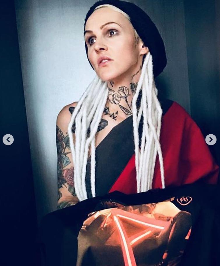 Agnieszka Chylińska tatuaż4