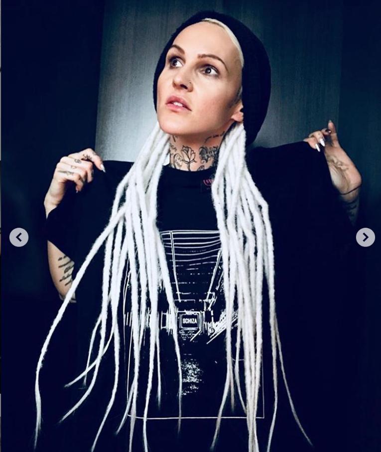 Agnieszka Chylińska tatuaż2